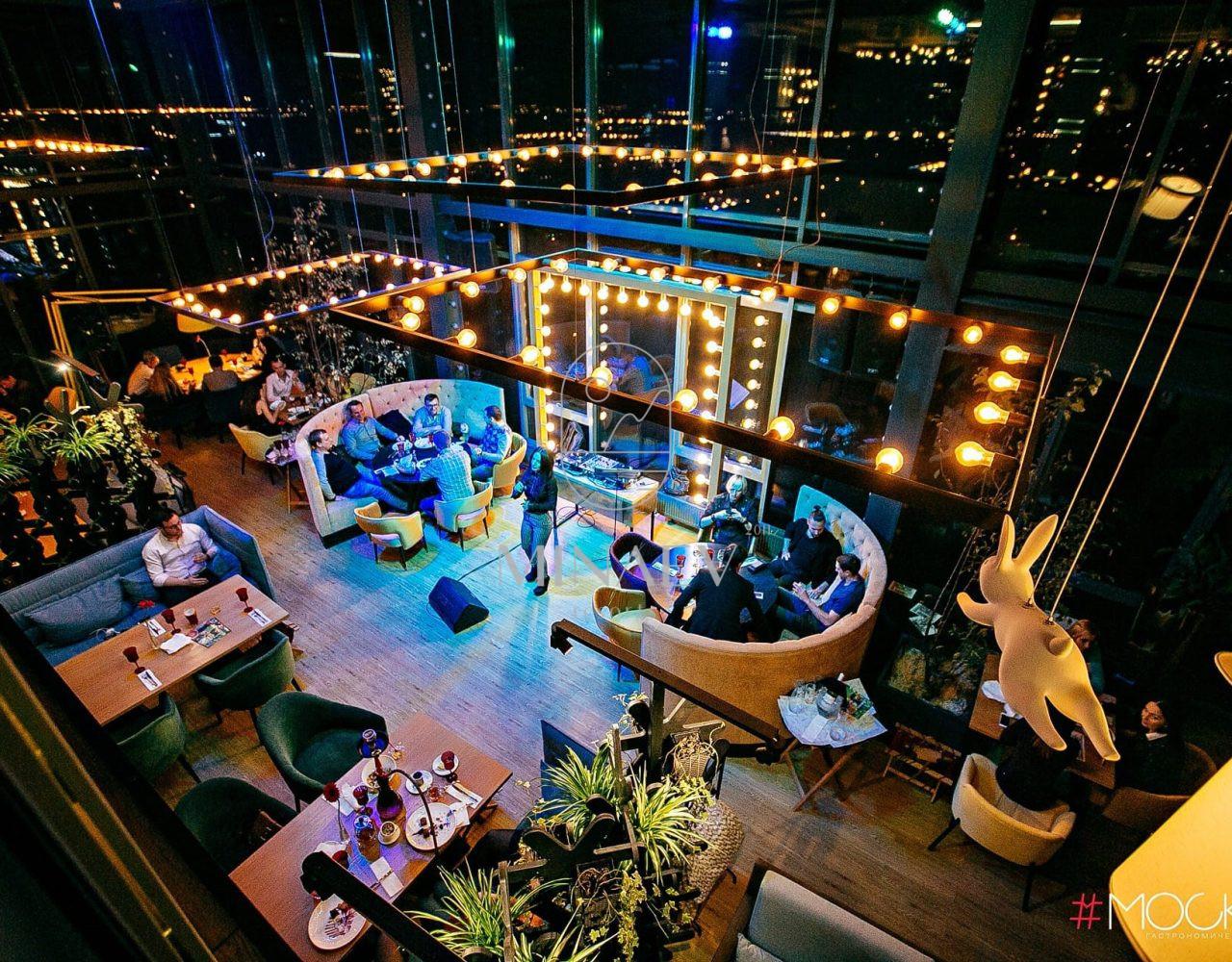 Гастрономический панорамный ресторан «#Москва», г. Воронеж. 2016г.