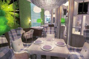 Ресторан ГринХофф. Москва, 2012 год.