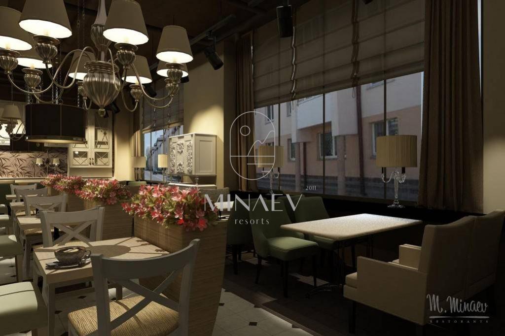 Кафе-кулинария. 110 мест. Москва, 2011 год