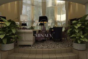 Лобби гостиницы Нижний Новгород