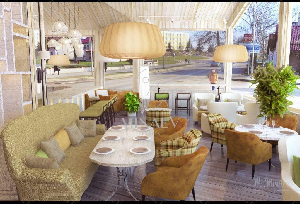 Летняя веранда ресторана <br/>Грин Хофф, Москва
