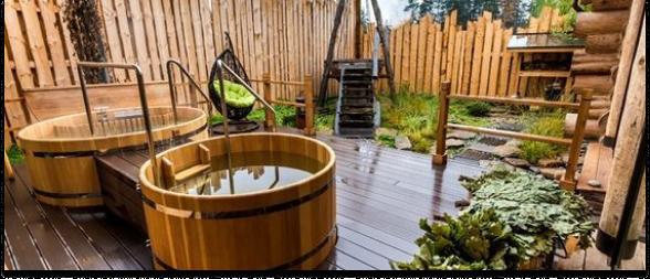 Строительство и оснащение банных двориков
